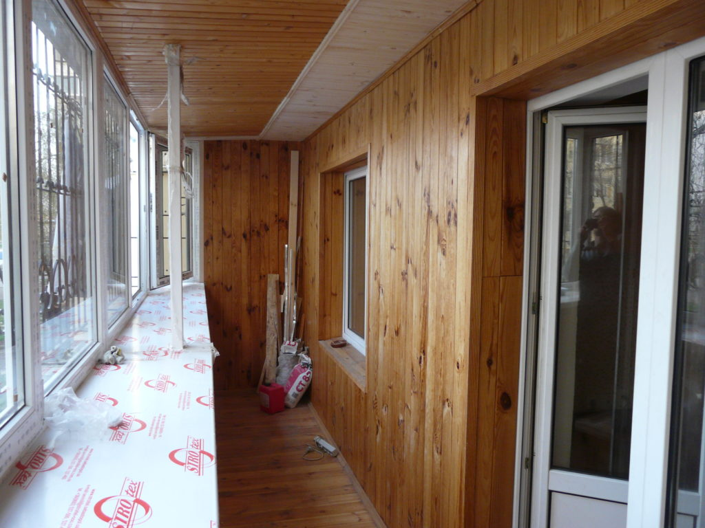 Ремонт и отделка лоджии в Зеленограде