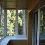 Внутренняя отделка лоджии и балкона в Зеленограде